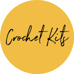 crochet kit yellow